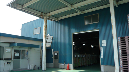 大阪営業所(岡山センター)外観写真